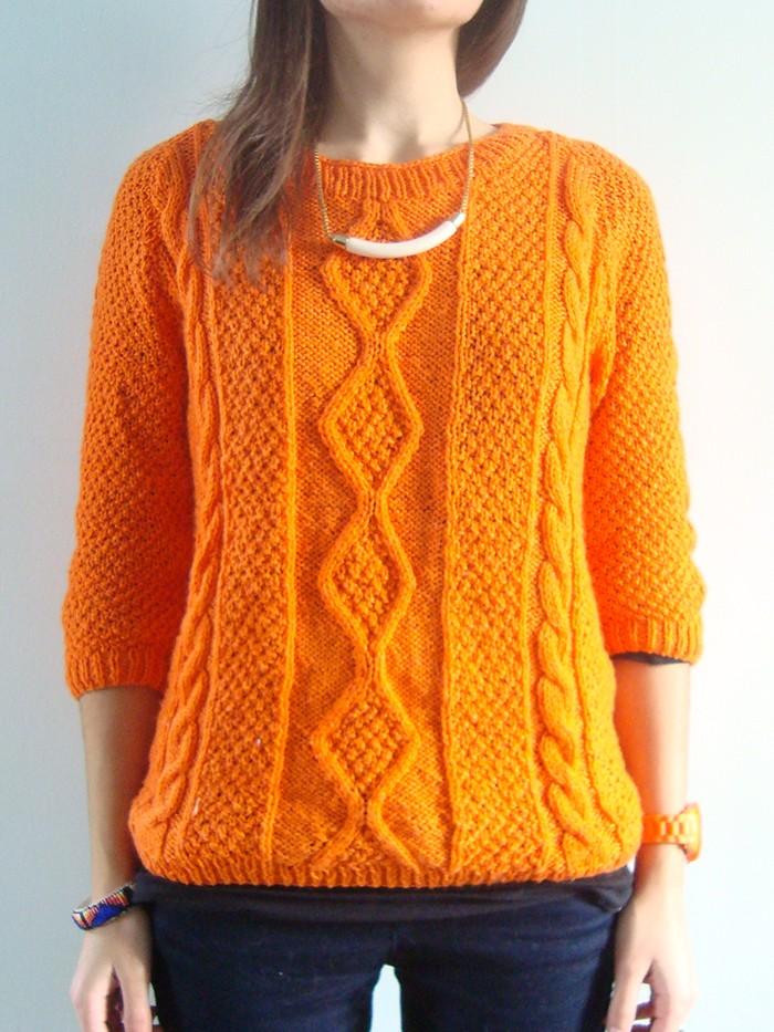 1-pull-torsade-orange-ludivineem