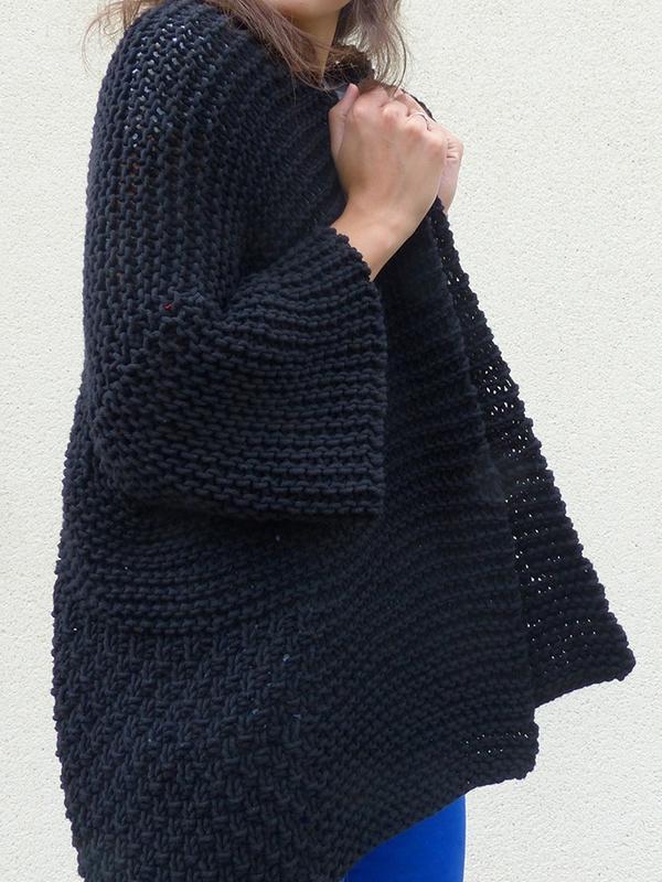 Origami - Point de ble au tricot ...